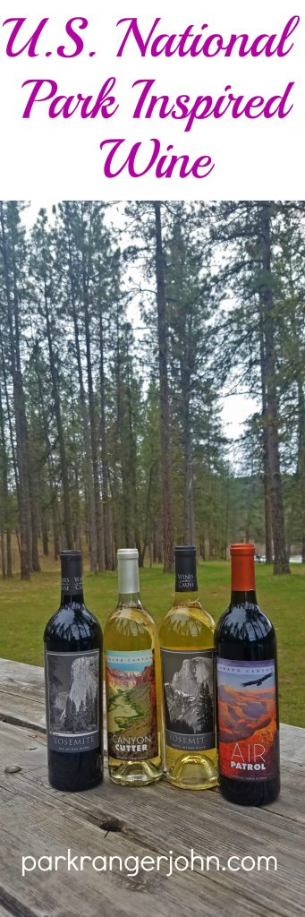 Plan your next National Parks road trip to collect bottles of wine inspired by the U.S. National Parks including Hawaii Volcanoes, Glacier, Yellowstone, Great Smoky Mountains and Yosemite National Parks!